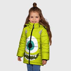 Куртка зимняя для девочки Майк Вазовский цвета 3D-черный — фото 2