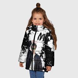 Куртка зимняя для девочки СЛАВА МАРЛОУ - фото 2