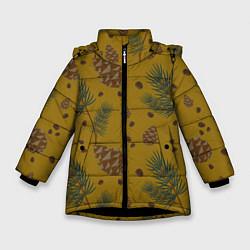 Куртка зимняя для девочки Сибирские шишки - фото 1