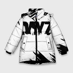 Детская зимняя куртка для девочки с принтом Dayz, цвет: 3D-черный, артикул: 10287511506065 — фото 1