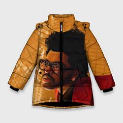Куртка зимняя для девочки After Hours - The Weeknd цвета 3D-черный — фото 1