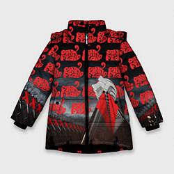 Куртка зимняя для девочки Pink Floyd Pattern цвета 3D-черный — фото 1