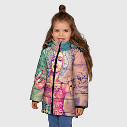 Куртка зимняя для девочки Монро - фото 2