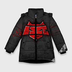 Куртка зимняя для девочки Hellraisers цвета 3D-черный — фото 1