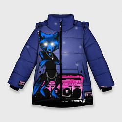 Куртка зимняя для девочки The Prodigy: Night Fox цвета 3D-черный — фото 1
