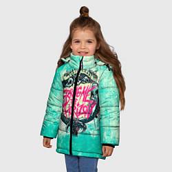 Куртка зимняя для девочки BMTH: Sempiternal цвета 3D-черный — фото 2