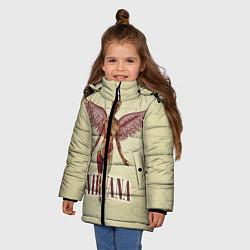 Куртка зимняя для девочки Nirvana Angel цвета 3D-черный — фото 2