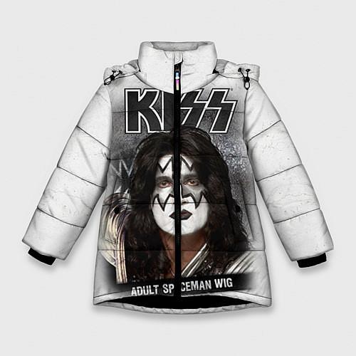 Зимняя куртка для девочки KISS: Adult spaceman wig / 3D-Черный – фото 1