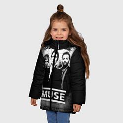 Куртка зимняя для девочки Muse - фото 2