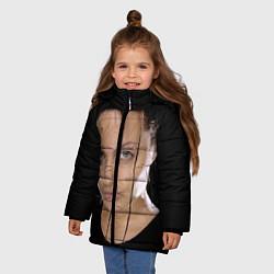 Куртка зимняя для девочки Tomb Rider цвета 3D-черный — фото 2