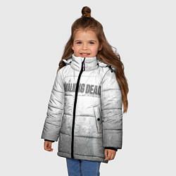 Куртка зимняя для девочки The Walking Dead: Shadows цвета 3D-черный — фото 2