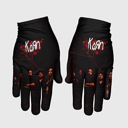 Перчатки Korn цвета 3D — фото 1
