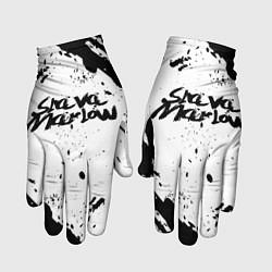 Перчатки Slava marlow цвета 3D-принт — фото 1