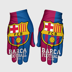 Перчатки Barca Football цвета 3D — фото 1