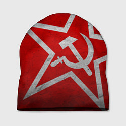 Шапка Флаг СССР: Серп и Молот
