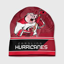 Шапка Carolina Hurricanes цвета 3D-принт — фото 1