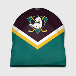 Шапка NHL: Anaheim Ducks цвета 3D-принт — фото 1