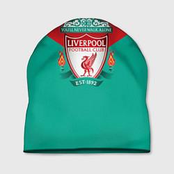 Шапка Liverpool: Green style цвета 3D-принт — фото 1