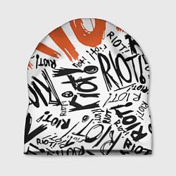 Шапка Paramore: Riot цвета 3D-принт — фото 1