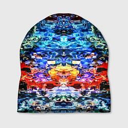Шапка Психоделика цвета 3D — фото 1