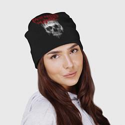 Шапка MIW Skull цвета 3D-принт — фото 2