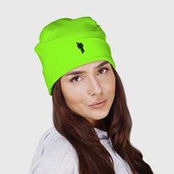 Шапка Billie Eilish: Green цвета 3D-принт — фото 2