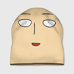 Шапка Saitama Face цвета 3D — фото 1