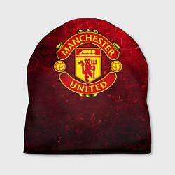 Шапка Манчестер Юнайтед цвета 3D — фото 1