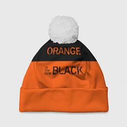 Шапка с помпоном Orange Is the New Black цвета 3D-белый — фото 1