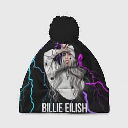 Шапка c помпоном BILLIE EILISH
