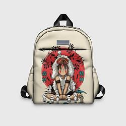 Детский рюкзак Princess Mononoke цвета 3D-принт — фото 1