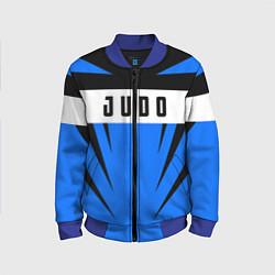 Бомбер детский Judo Fighter цвета 3D-синий — фото 1