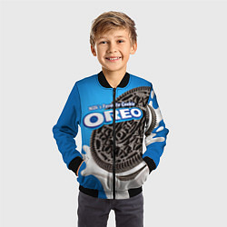 Бомбер детский Oreo цвета 3D-черный — фото 2