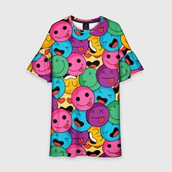 Платье клеш для девочки Pattern цвета 3D-принт — фото 1