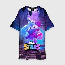 Детское платье Сквик Squeak Brawl Stars