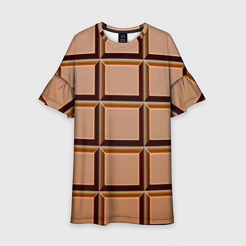 Детское платье Шоколад / 3D – фото 1