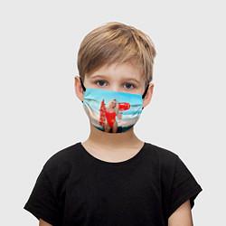 Маска для лица детская Baywatch: Pamela Anderson цвета 3D — фото 1