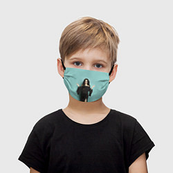 Маска для лица детская Selena Gomez цвета 3D — фото 1