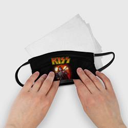 Маска для лица детская KISS: Джин Симмонс цвета 3D — фото 2