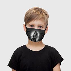 Маска для лица детская Trap Girl цвета 3D — фото 1