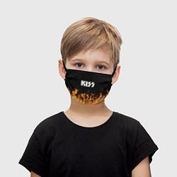 Маска для лица детская Kiss: Hell Flame цвета 3D — фото 1