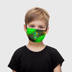 Маска для лица детская BRAWL STARS LEON цвета 3D — фото 1
