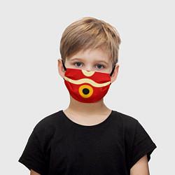 Маска для лица детская ПРИНЦЕССА МОНОНОКЕ цвета 3D-принт — фото 1