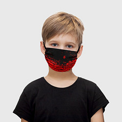 Маска для лица детская Sabaton цвета 3D-принт — фото 1