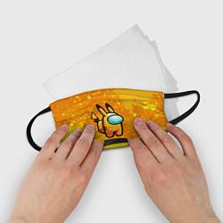 Маска для лица детская AMONG US - Pikachu цвета 3D — фото 2