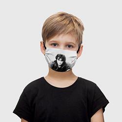 Маска для лица детская Кино: Виктор Цой цвета 3D — фото 1