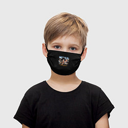 Маска для лица детская Kiss Monster цвета 3D — фото 1