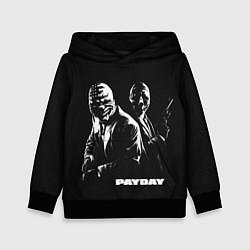 Толстовка-худи детская Payday цвета 3D-черный — фото 1