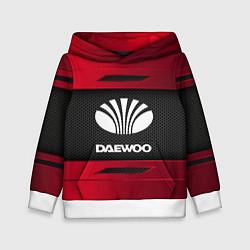 Толстовка-худи детская Daewoo Sport цвета 3D-белый — фото 1