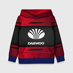 Толстовка-худи детская Daewoo Sport цвета 3D-синий — фото 1